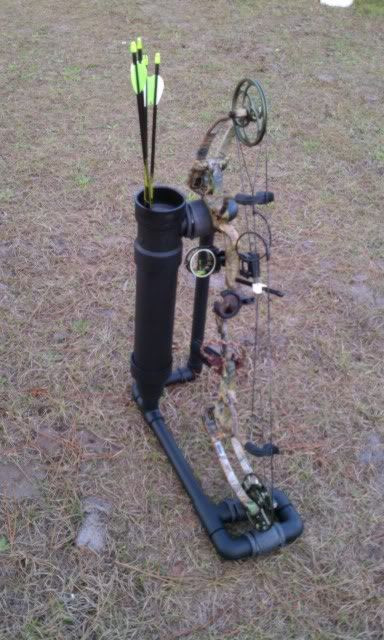 Best ideas about DIY Bow Stand . Save or Pin 1000 ideas about Archery Tar Stand on Pinterest Now.