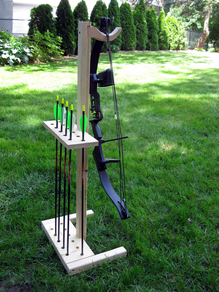 Best ideas about DIY Bow Stand . Save or Pin Bow and Arrow Stand Now.