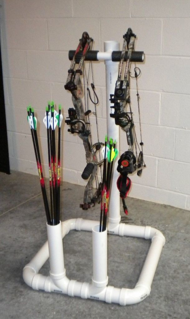 Best ideas about DIY Bow Stand . Save or Pin 8 Ridiculously Useful PVC Hunting Projects You Can Do This Now.