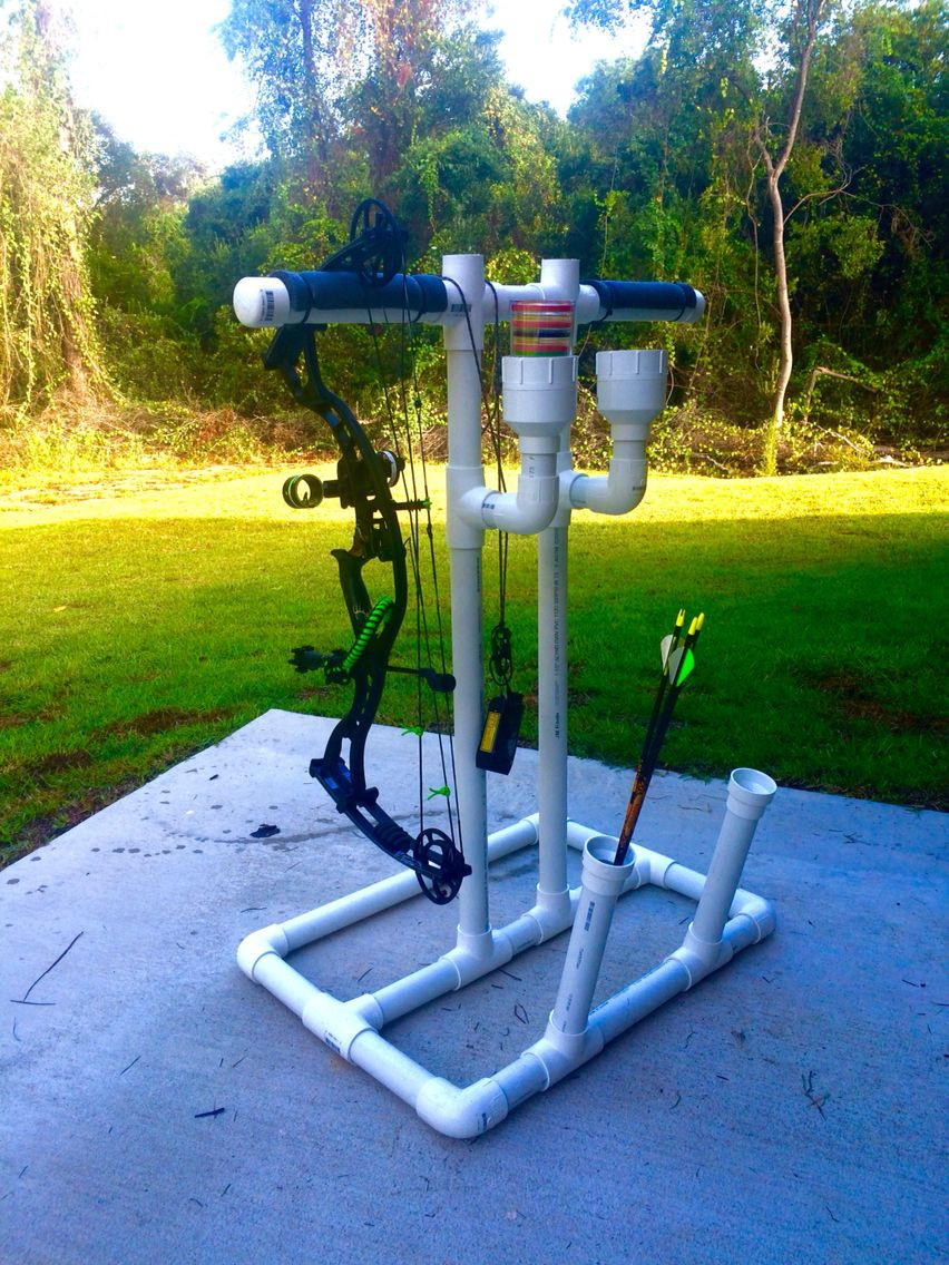 Best ideas about DIY Bow Stand . Save or Pin DIY Bow and Tar Stands You Can Do It Now.
