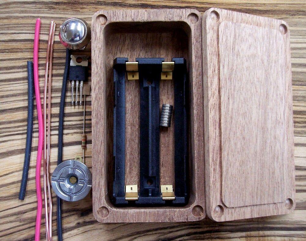 Diy Wood Box Mod Enclosure - DIY Campbellandkellarteam