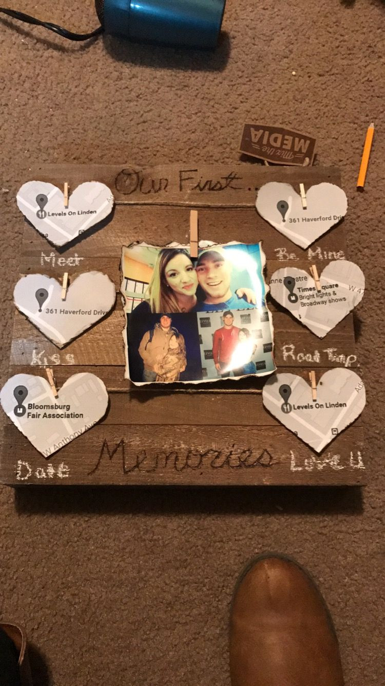 Best ideas about DIY Boyfriend Birthday Gifts . Save or Pin DIY t for him Valentine s Day anniversary surprise Now.