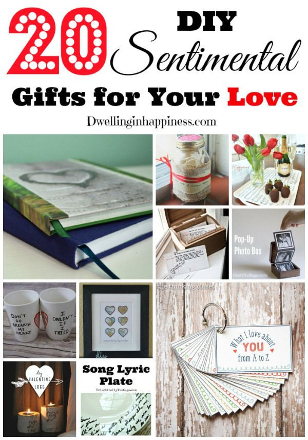 Best ideas about DIY Boyfriend Christmas Gifts . Save or Pin 25 unique Sentimental ts for men ideas on Pinterest Now.