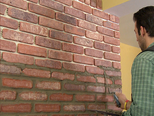 Best ideas about DIY Brick Walls . Save or Pin How to Install Brick Veneer on a Wall how tos Now.