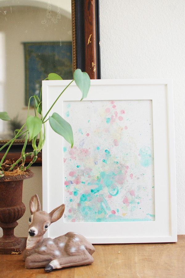 Best ideas about DIY Bubble Wall . Save or Pin Watercolor Bubble Art 7 DIY Wall Art Tutorials DIY Now.