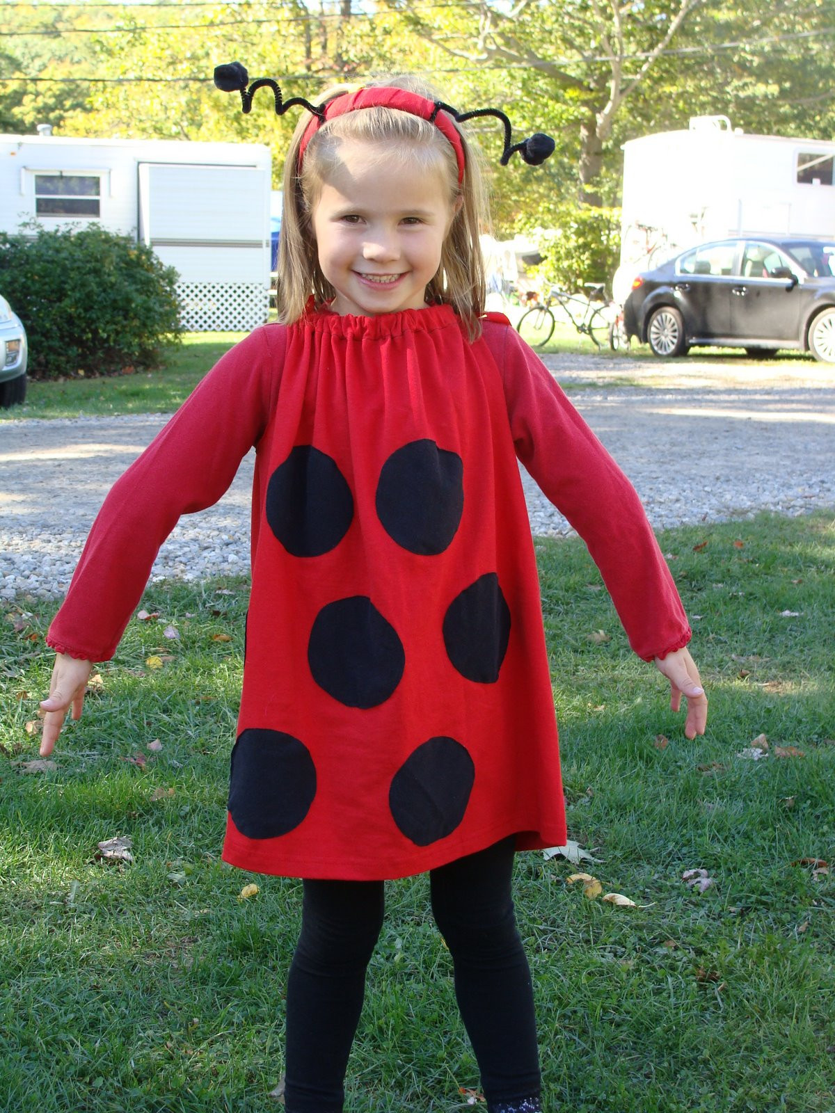 Best ideas about DIY Bug Costume . Save or Pin 7 All To her Super Easy LadyBug Costume Now.