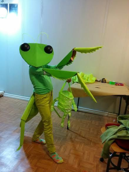 Best ideas about DIY Bug Costume . Save or Pin Make the Most Adorable Praying Mantis Costume Ever Now.