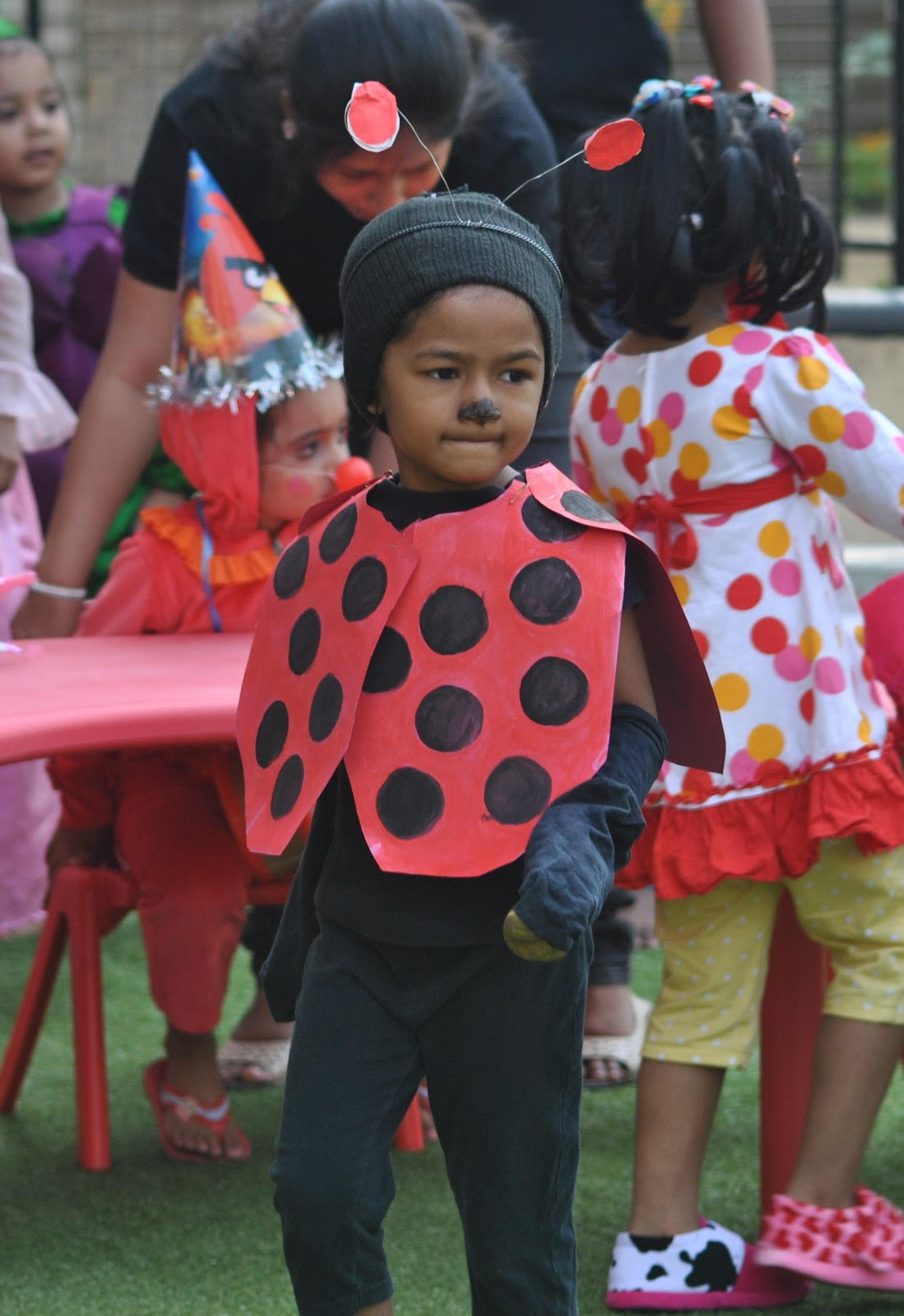 Best ideas about DIY Bug Costume . Save or Pin DIY Lady bug costume Now.