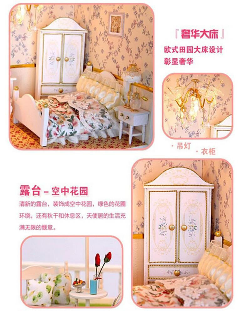 Best ideas about DIY Building Kits . Save or Pin Diy Doll House Miniature Model Building Kits Handmade Now.