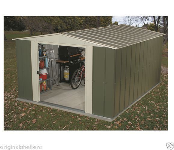 Best ideas about DIY Building Kits . Save or Pin Arrow Metal Shed 10x9 Outdoor Storage Sheds Building Kit Now.