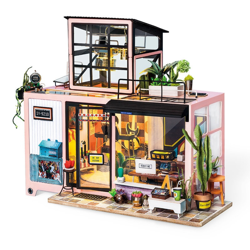 Best ideas about DIY Building Kits . Save or Pin Robotime New DIY Kevin s Studio with Furniture Children Now.