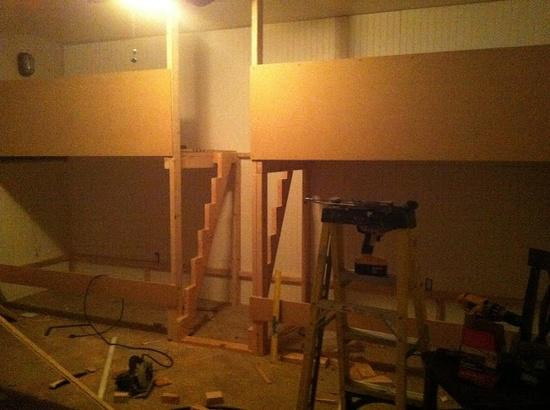 Best ideas about DIY Built In Bunk Beds . Save or Pin DIY Built In Bunk Bed Inspiration Now.