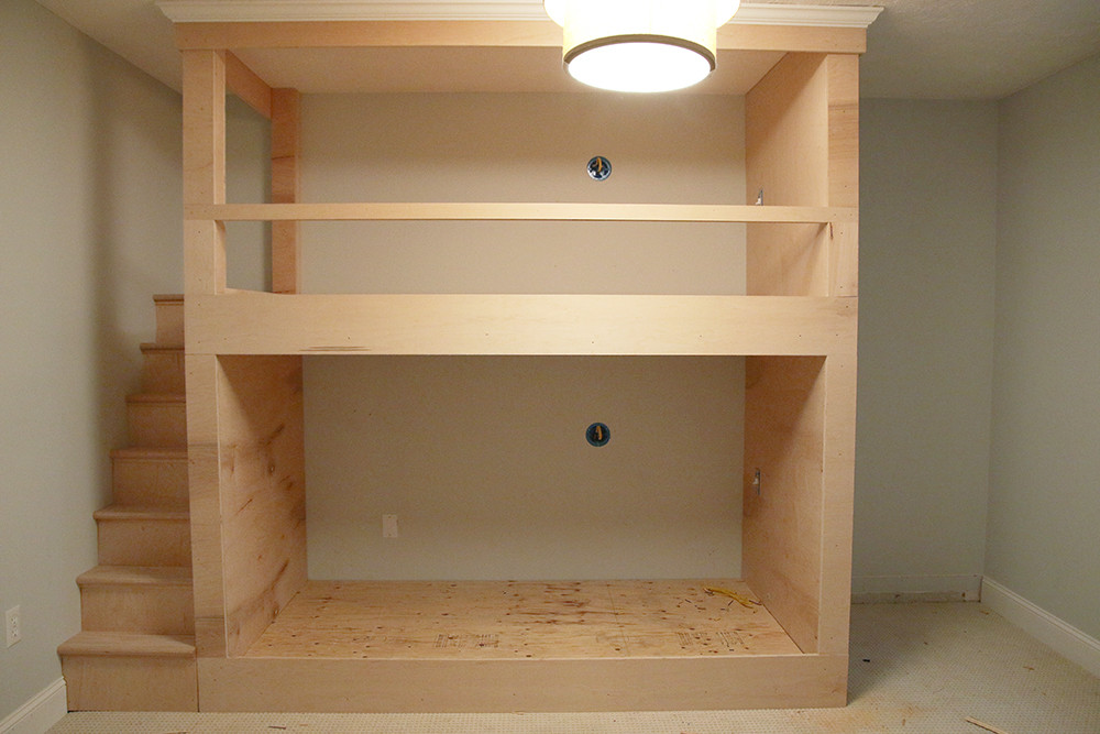Best ideas about DIY Built In Bunk Beds . Save or Pin Stylish Bunk Bed Plans It s All In The Details Now.