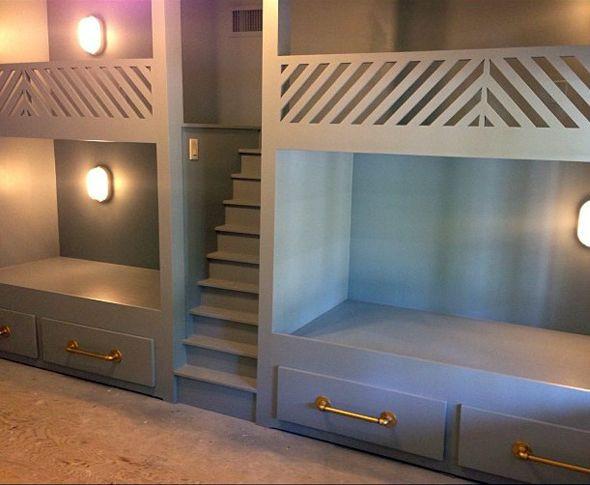 Best ideas about DIY Built In Bunk Beds . Save or Pin 25 best ideas about Built in bunks on Pinterest Now.