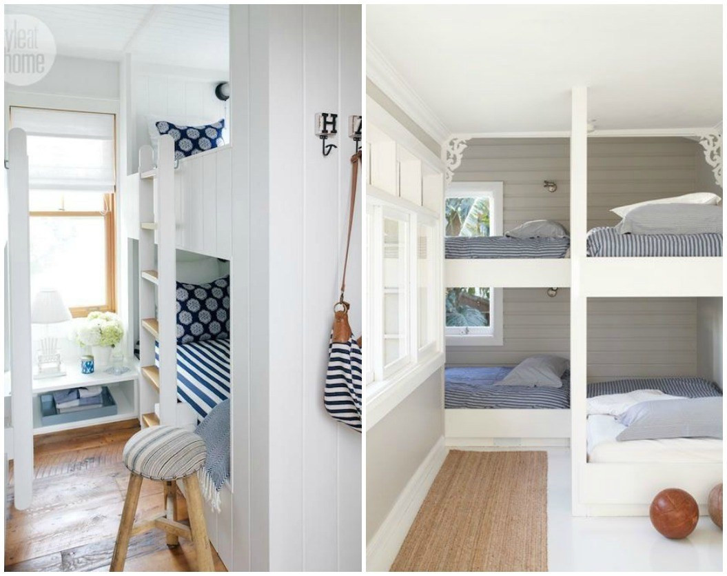Best ideas about DIY Built In Bunk Beds . Save or Pin Built in Bunk Beds DIY Decorator Now.