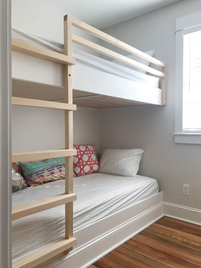 Best ideas about DIY Built In Bunk Beds . Save or Pin How To Make DIY Built In Bunk Beds Now.