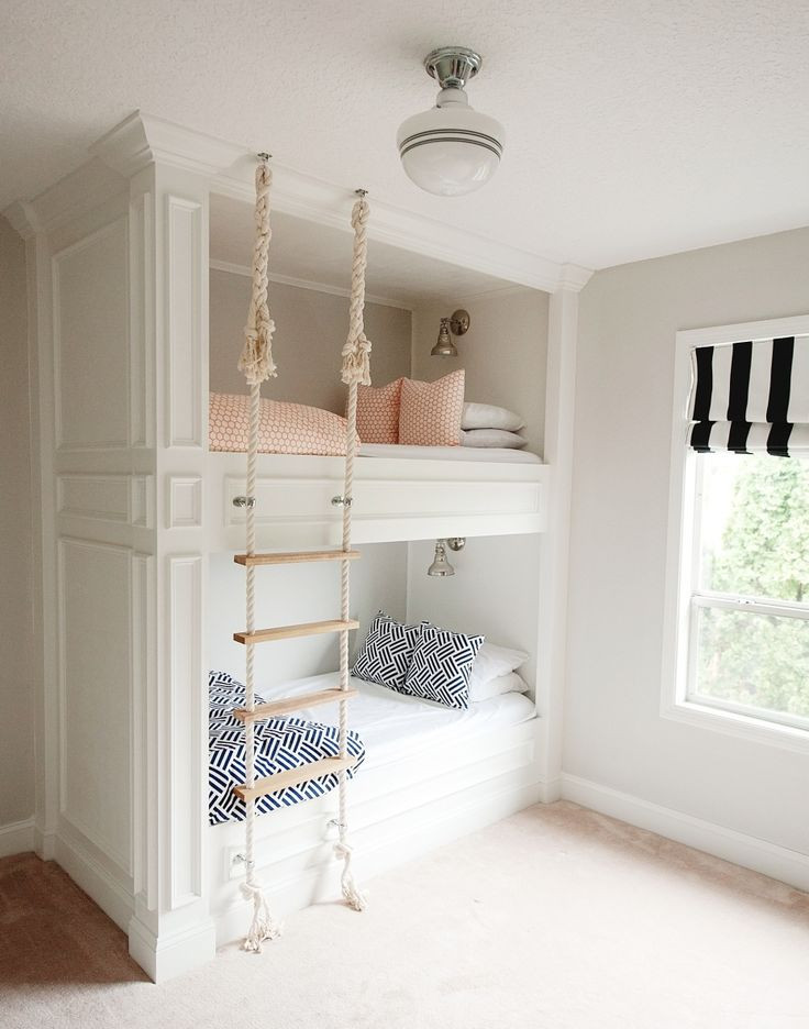 Best ideas about DIY Built In Bunk Beds . Save or Pin Bunk Room Love The Sweetest Occasion Now.
