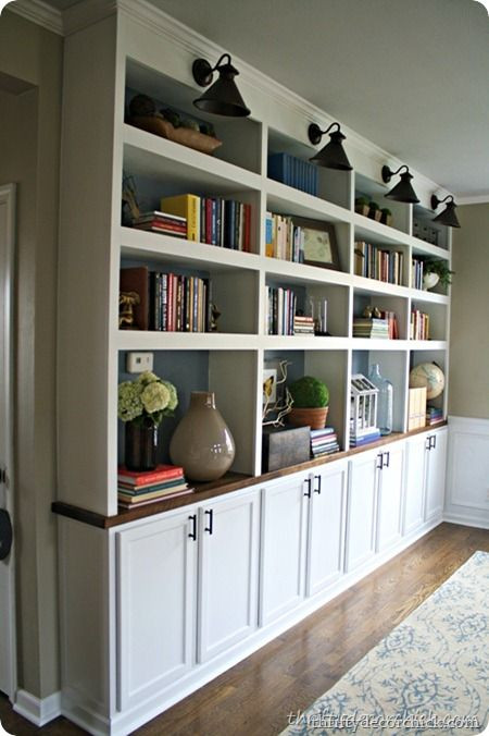 Best ideas about DIY Built Ins . Save or Pin DIY built ins kitchen cabinets DECO Now.