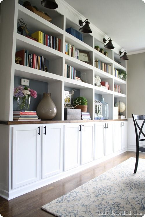 Best ideas about DIY Built Ins . Save or Pin Dining Room pretty Organization DIY built ins using Now.