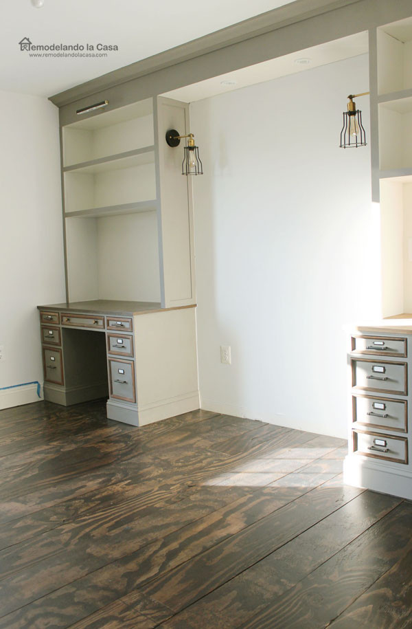 Best ideas about DIY Built Ins . Save or Pin DIY Built ins Around Bed Final Reveal Remodelando la Casa Now.