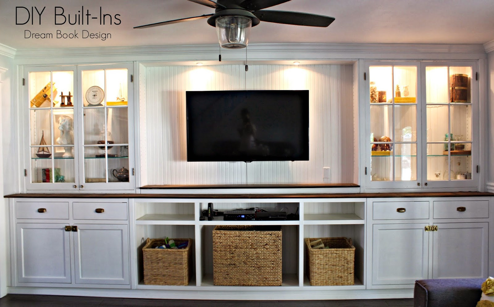 Best ideas about DIY Built Ins . Save or Pin DIY Built Ins Dream Book Design Now.
