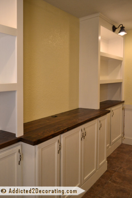 Best ideas about DIY Built Ins . Save or Pin My DIY Built In Bookcase Wall Is Finished Before & After Now.