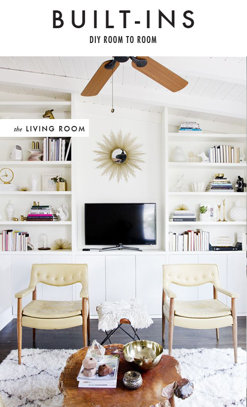 Best ideas about DIY Built Ins . Save or Pin DIY room to room built ins The House That Lars Built Now.