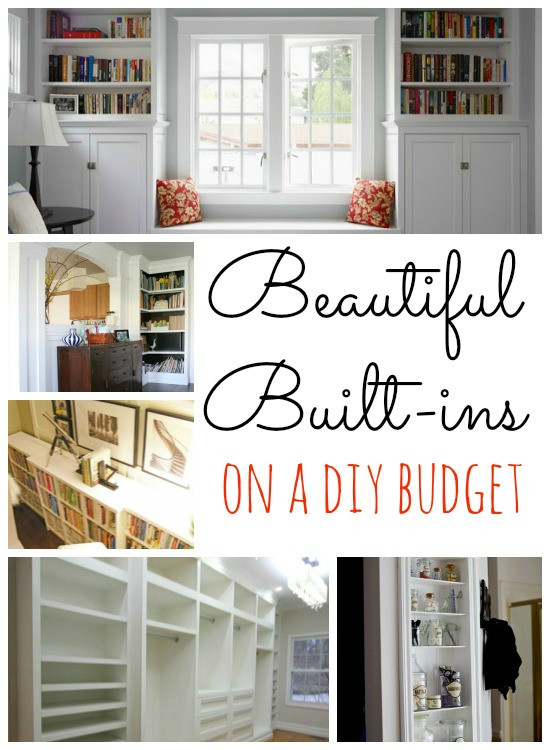 Best ideas about DIY Built Ins . Save or Pin Remodelaholic Now.
