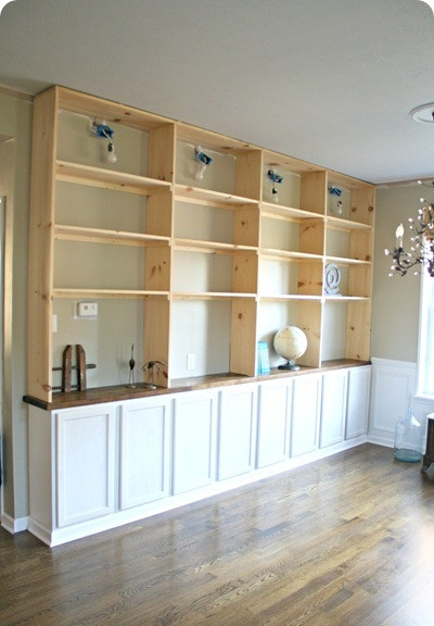Best ideas about DIY Built Ins . Save or Pin 40 Easy DIY Bookshelf Plans Now.