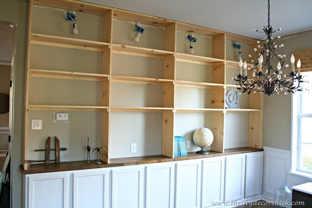 Best ideas about DIY Built Ins . Save or Pin My Top Tens of 2015 from Thrifty Decor Chick Now.
