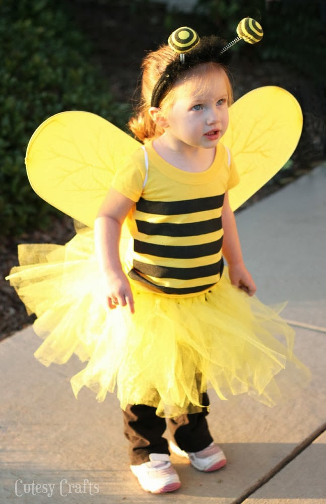 Best ideas about DIY Bumblebee Costume . Save or Pin DIY Bee Costume Big Kid Tee into Toddler Tee Cutesy Crafts Now.