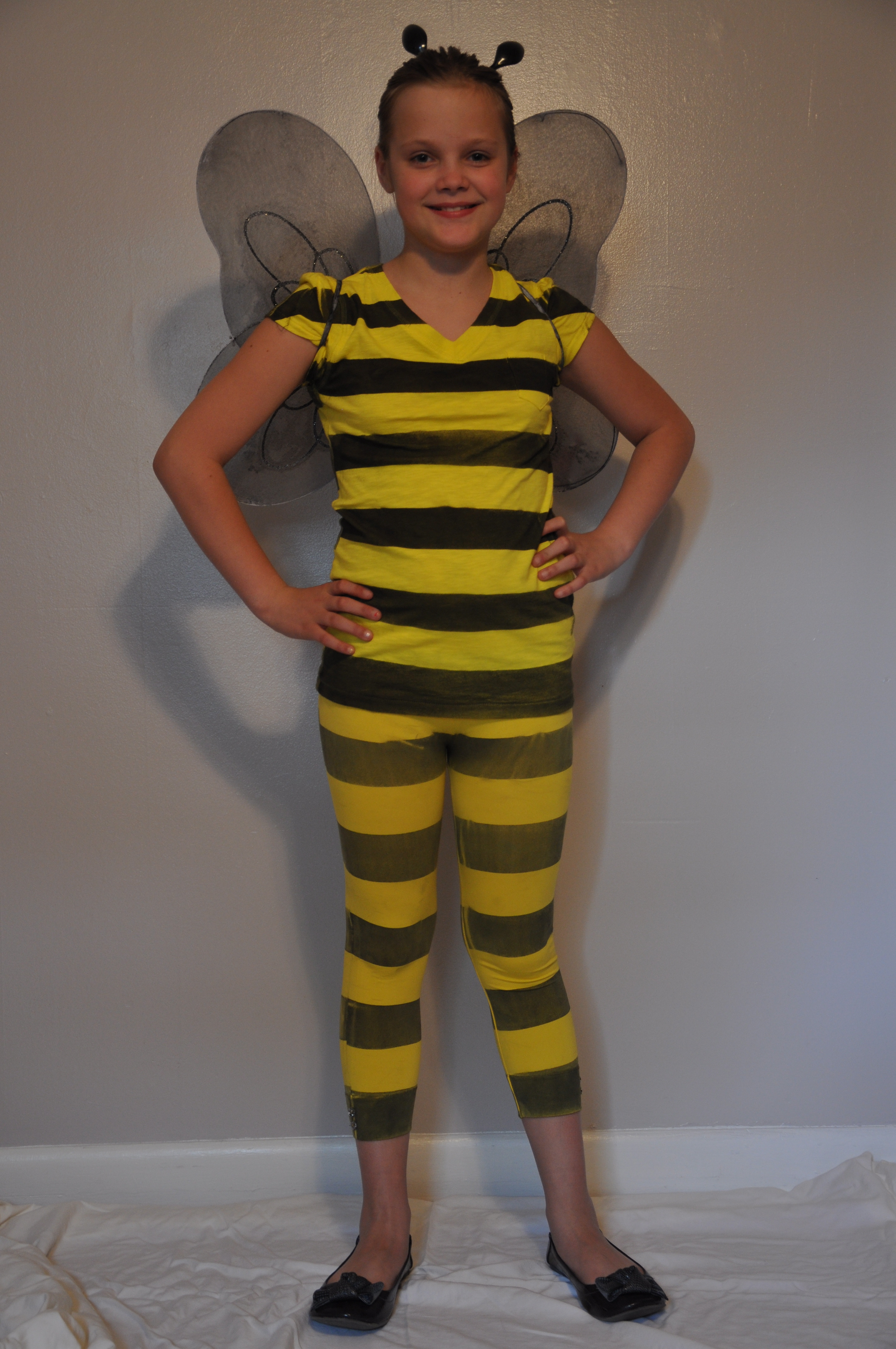 Best ideas about DIY Bumblebee Costume . Save or Pin Homemade Bumblebee Costume Mommysavers Now.