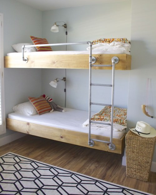 Best ideas about DIY Bunk Bed Ladder . Save or Pin 9 Amazing DIY Bunk Beds Now.