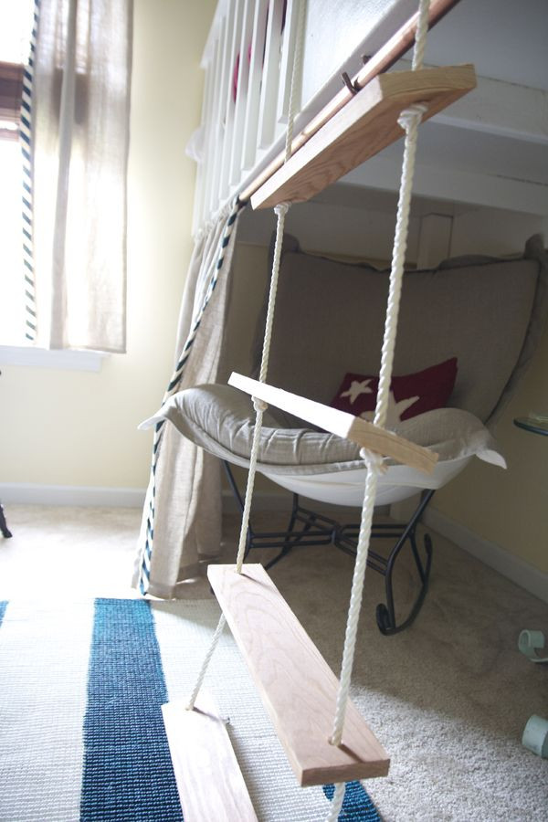 Best ideas about DIY Bunk Bed Ladder . Save or Pin How To Build A Bunk Bed Ladder WoodWorking Projects & Plans Now.