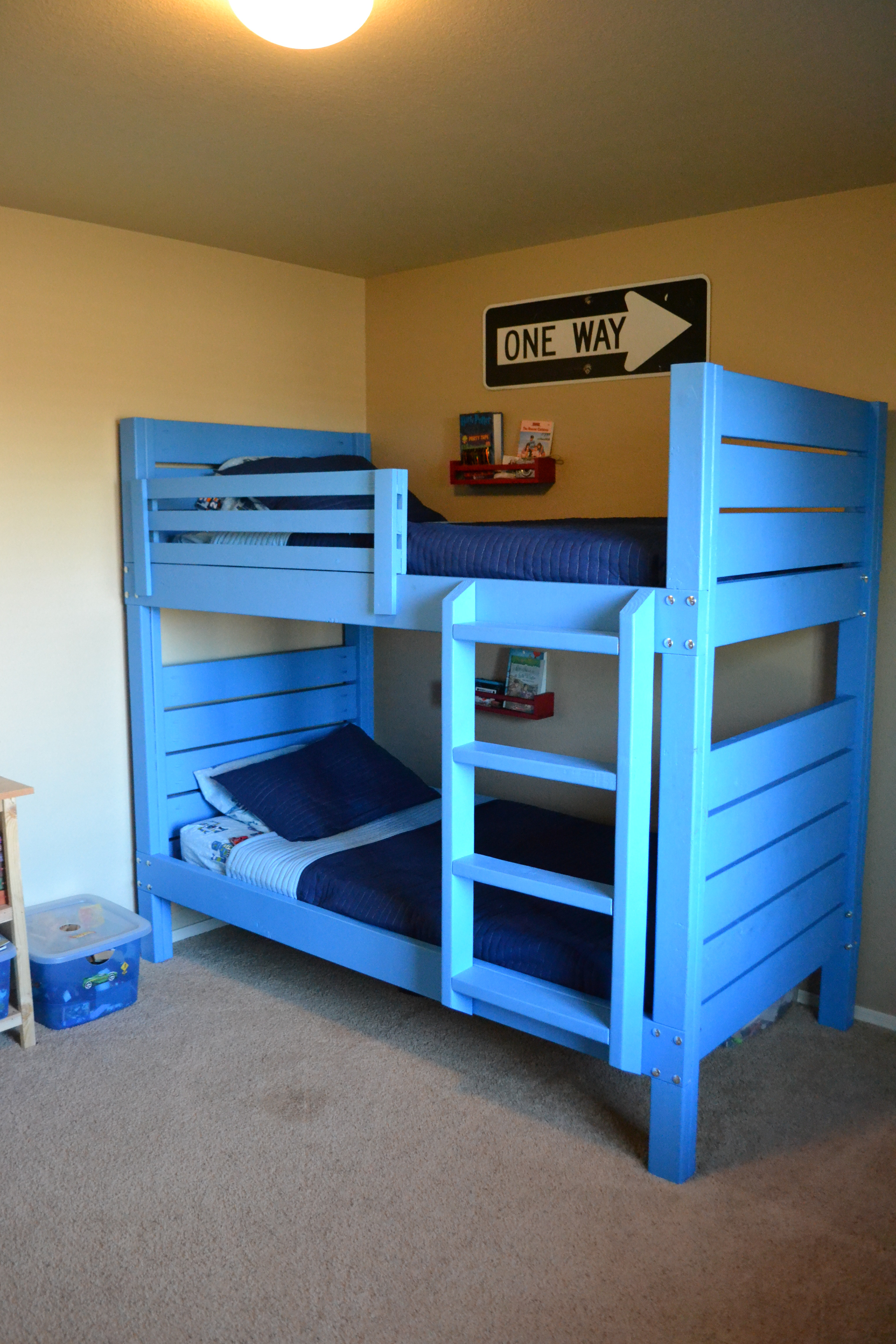 Best ideas about DIY Bunk Bed Ladder . Save or Pin bolts Can I use screws for attaching a ladder to a bunk Now.