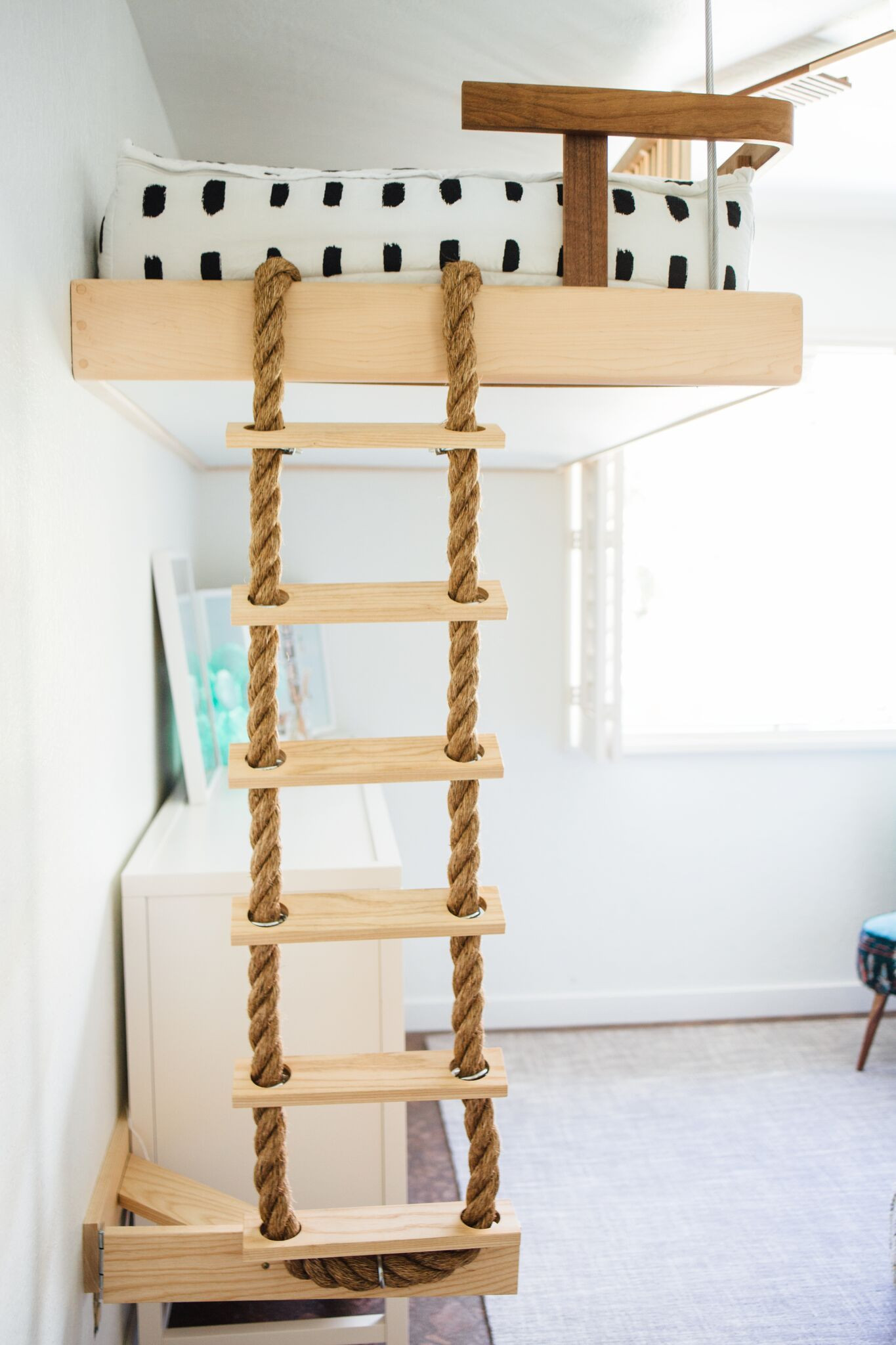Best ideas about DIY Bunk Bed Ladder . Save or Pin In the Nursery with Lunchpails Lipstick Now.