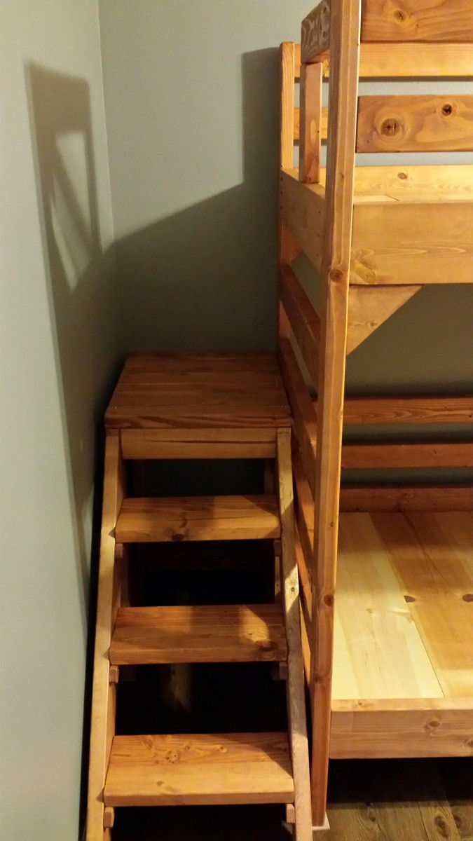 Best ideas about DIY Bunk Beds With Stairs . Save or Pin Ana White Now.