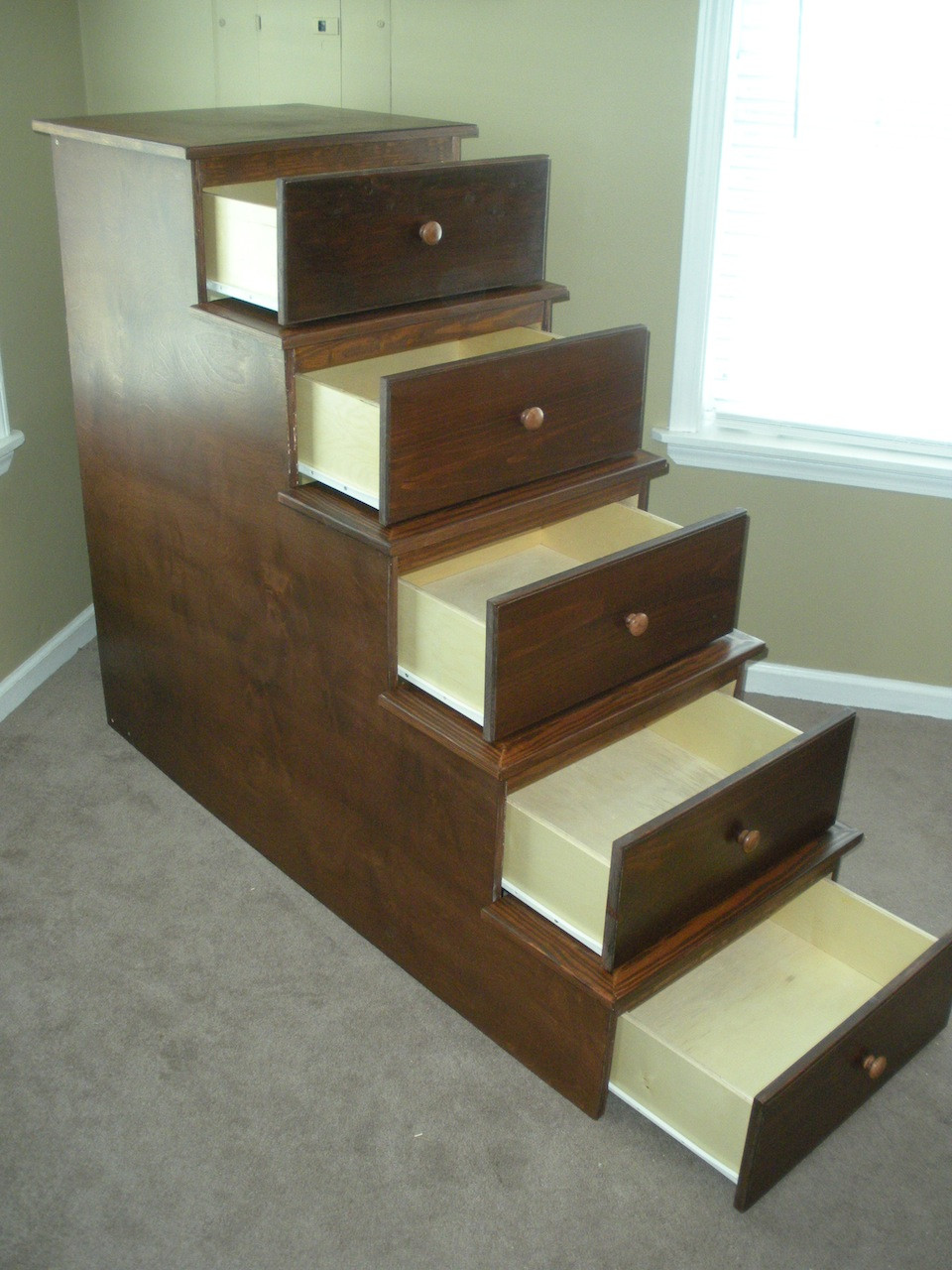 Best ideas about DIY Bunk Beds With Stairs . Save or Pin Richard s Bunk Bed Storage The Wood Whisperer Now.