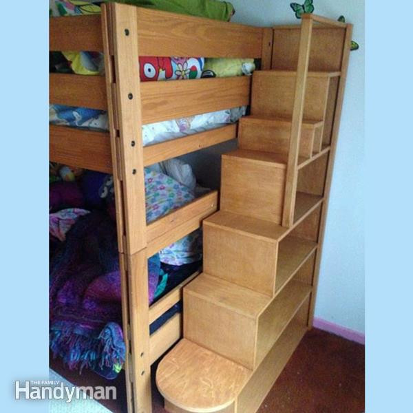 Best ideas about DIY Bunk Beds With Stairs . Save or Pin Bunk Bed Plans 21 Bunk Bed Designs and Ideas Now.