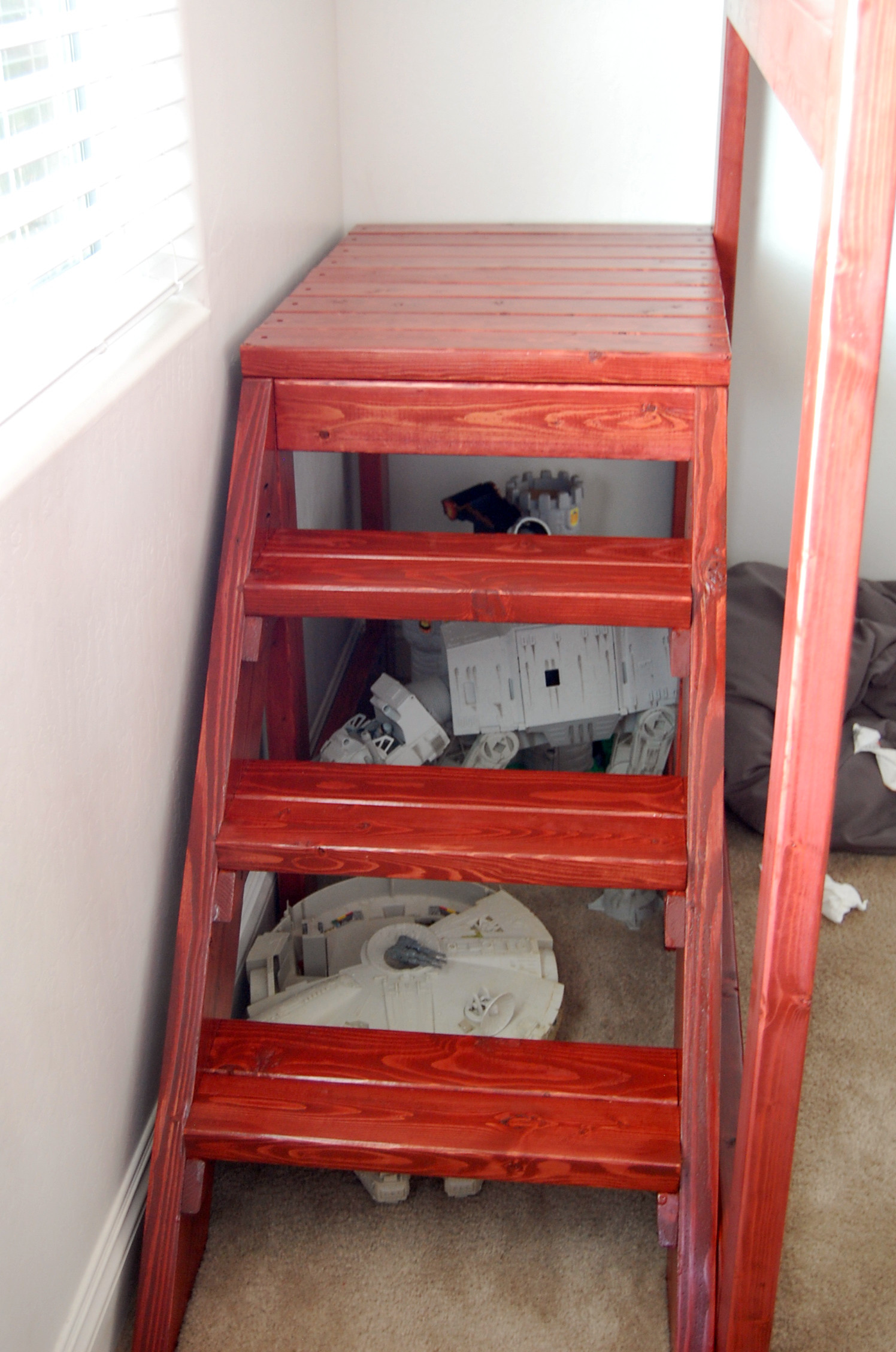 Best ideas about DIY Bunk Beds With Stairs . Save or Pin DIY Loft Bed Now.