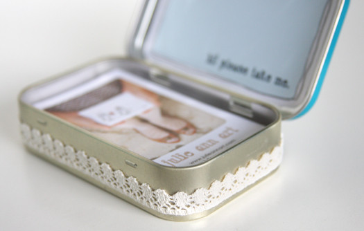 Best ideas about DIY Business Card Holder . Save or Pin Ruche Project DIY Business Card Holder Now.