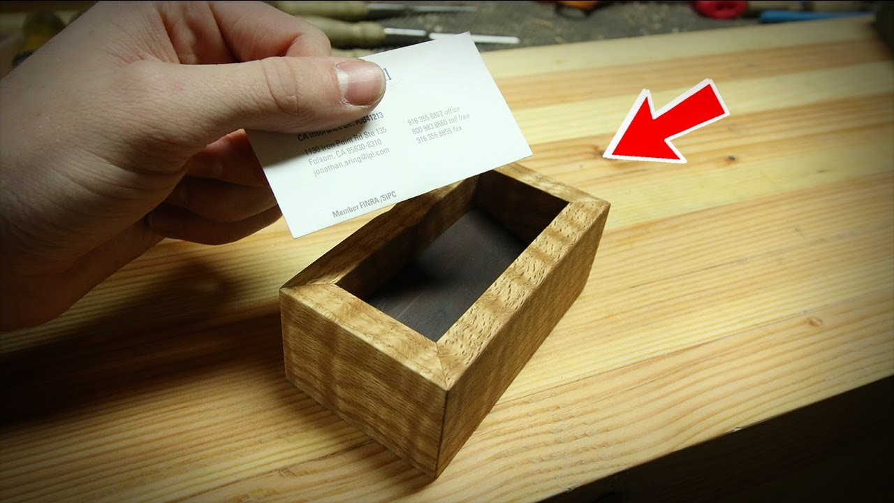 Best ideas about DIY Business Card Holder . Save or Pin Super Simple DIY Business Card Holder Now.