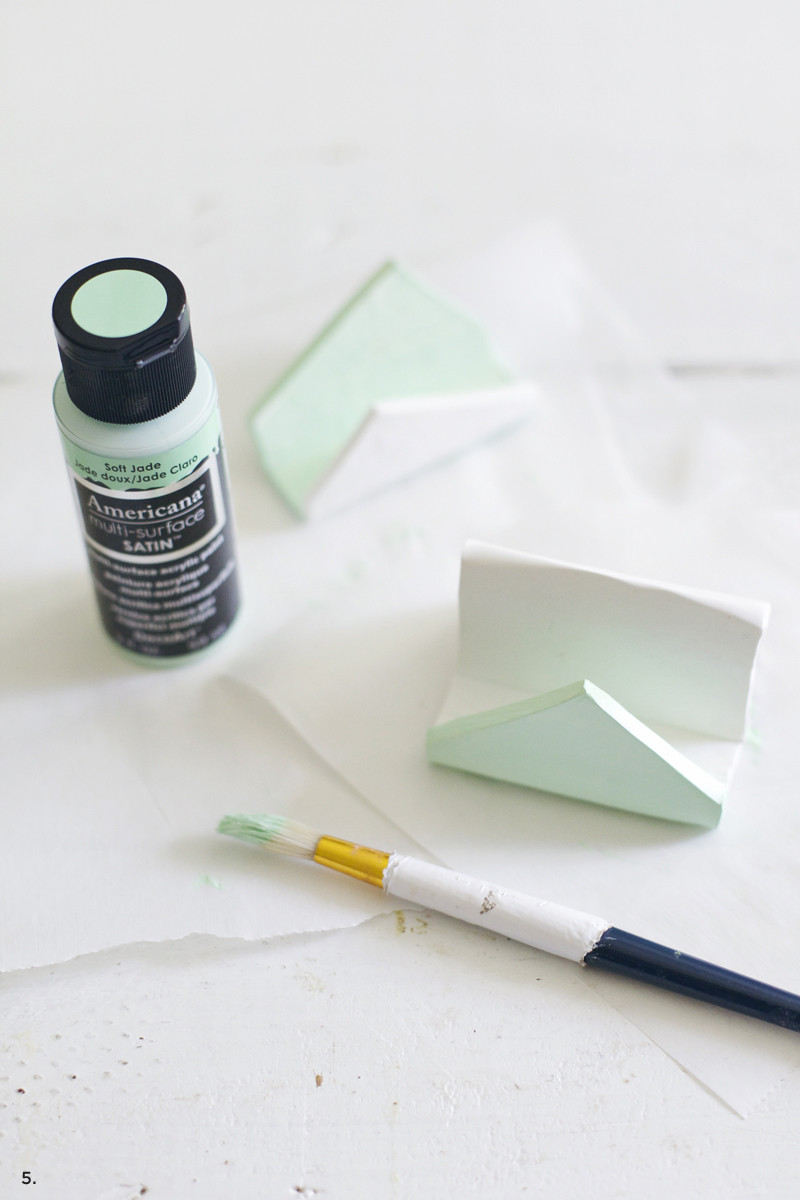 Best ideas about DIY Business Card Holder . Save or Pin DIY Business Card Holder A Beautiful Mess Now.