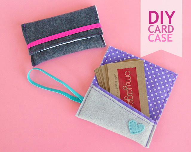 Best ideas about DIY Business Card Holder . Save or Pin DIY Business Card Case – Oh My Handmade Now.