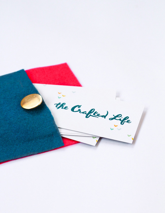 Best ideas about DIY Business Card Holder . Save or Pin DIY Business Card Holder The Crafted Life Now.