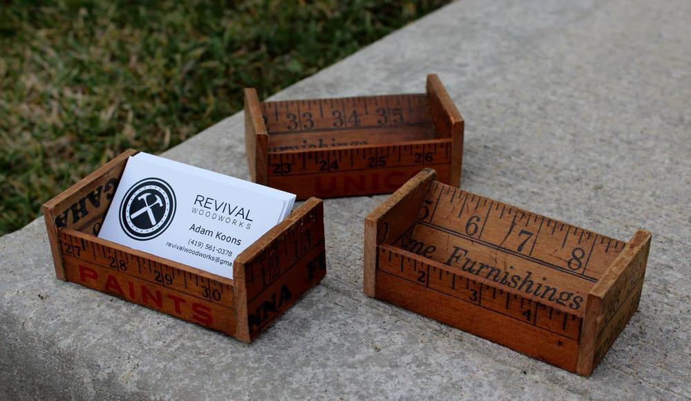 Best ideas about DIY Business Card Holders . Save or Pin Projects — Revival Woodworks Now.