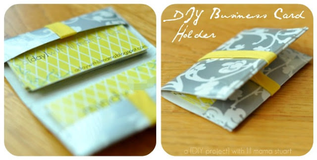Best ideas about DIY Business Card Holders . Save or Pin 13 DIY Business Card Holders patterns & templates – Tip Now.