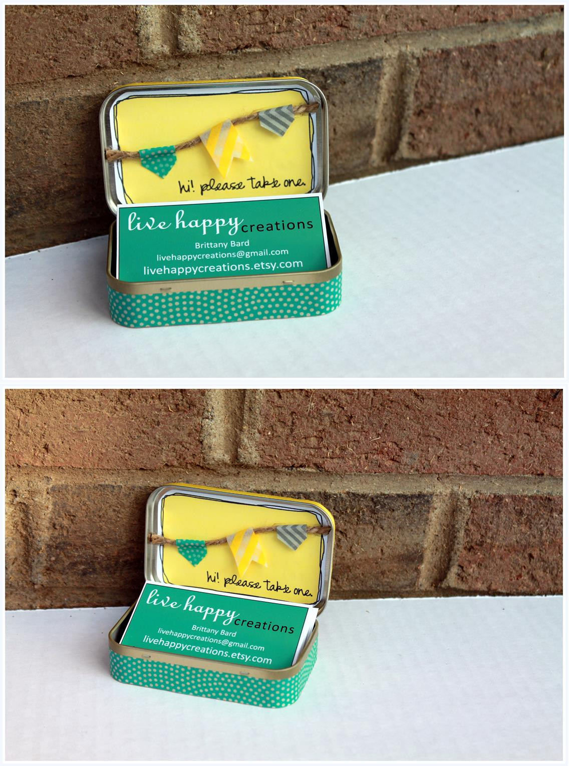Best ideas about DIY Business Card Holders . Save or Pin diy business card holder – live happy Now.