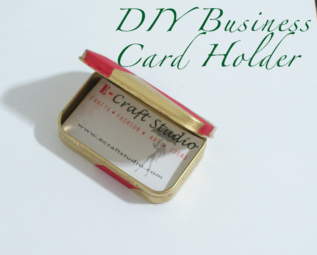 Best ideas about DIY Business Card Holders . Save or Pin DIY Business Card Holder Now.