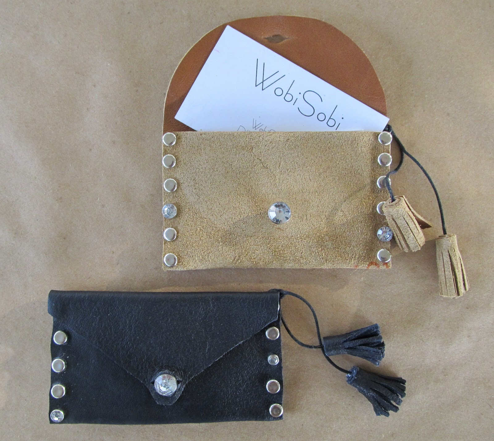 Best ideas about DIY Business Card Holders . Save or Pin WobiSobi Leather Business Card Holder DIY Now.